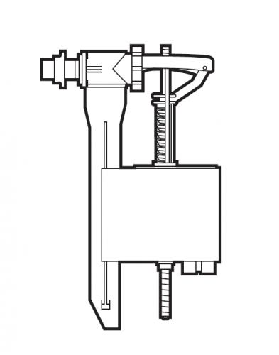 Mecanismo alimentacion lateral roca for Mecanismo descarga roca
