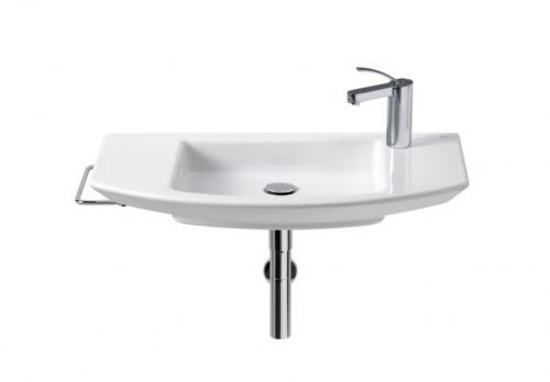Toallero lateral lavabo cromo mohave 22 de roca for Toallero lavabo