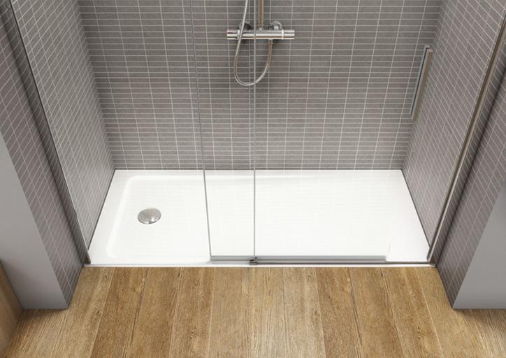 Plato de ducha acrilico extraplano neo daiquiri de roca for Platos de ducha roca rectangulares