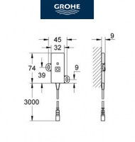 GROHE F-DIGITAL ANTENA